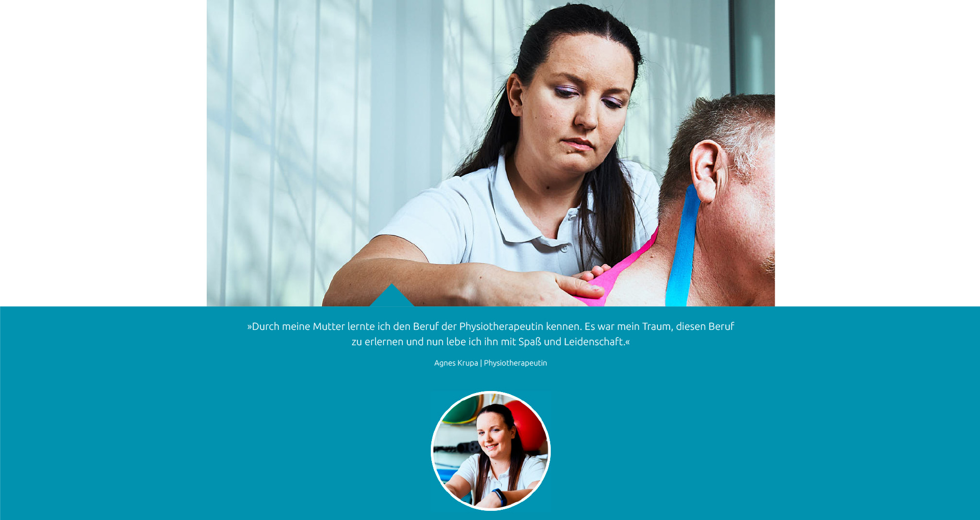 Team - Agnes Krupa - Praxis Fuchs Physiotherapie Osteopathie Rottweil