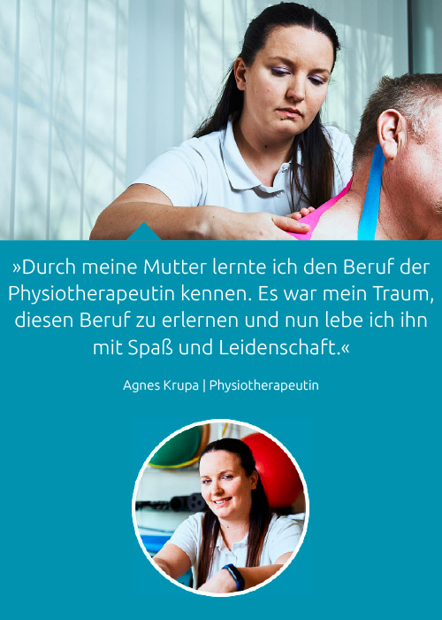 Team - Agnes Krupa - Praxis Fuchs Physiotherapie Osteopathie Rottweil