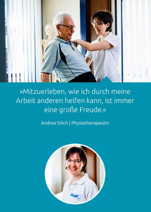 Team - Andrea Sölch - Praxis Fuchs Physiotherapie Osteopathie Rottweil