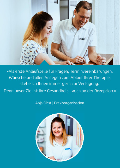 Team - Anja Obst - Praxis Fuchs Physiotherapie Osteopathie Rottweil