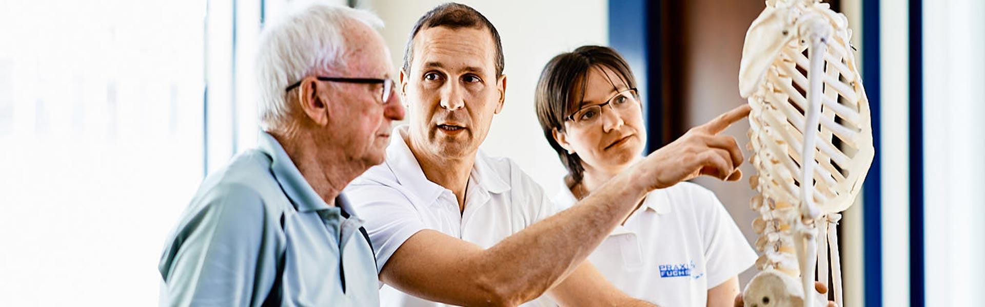 Praxis Fuchs Physiotherapie Osteotherapie Beratung und Betreuung Rottweil
