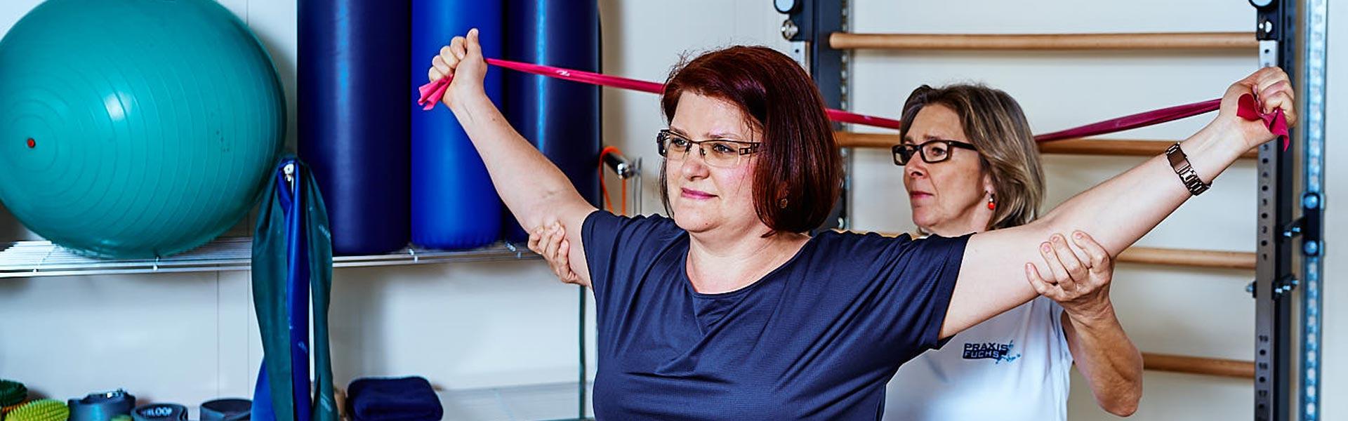 Praxis Fuchs Physiotherapie Osteotherapie Krankengymnastik Rottweil