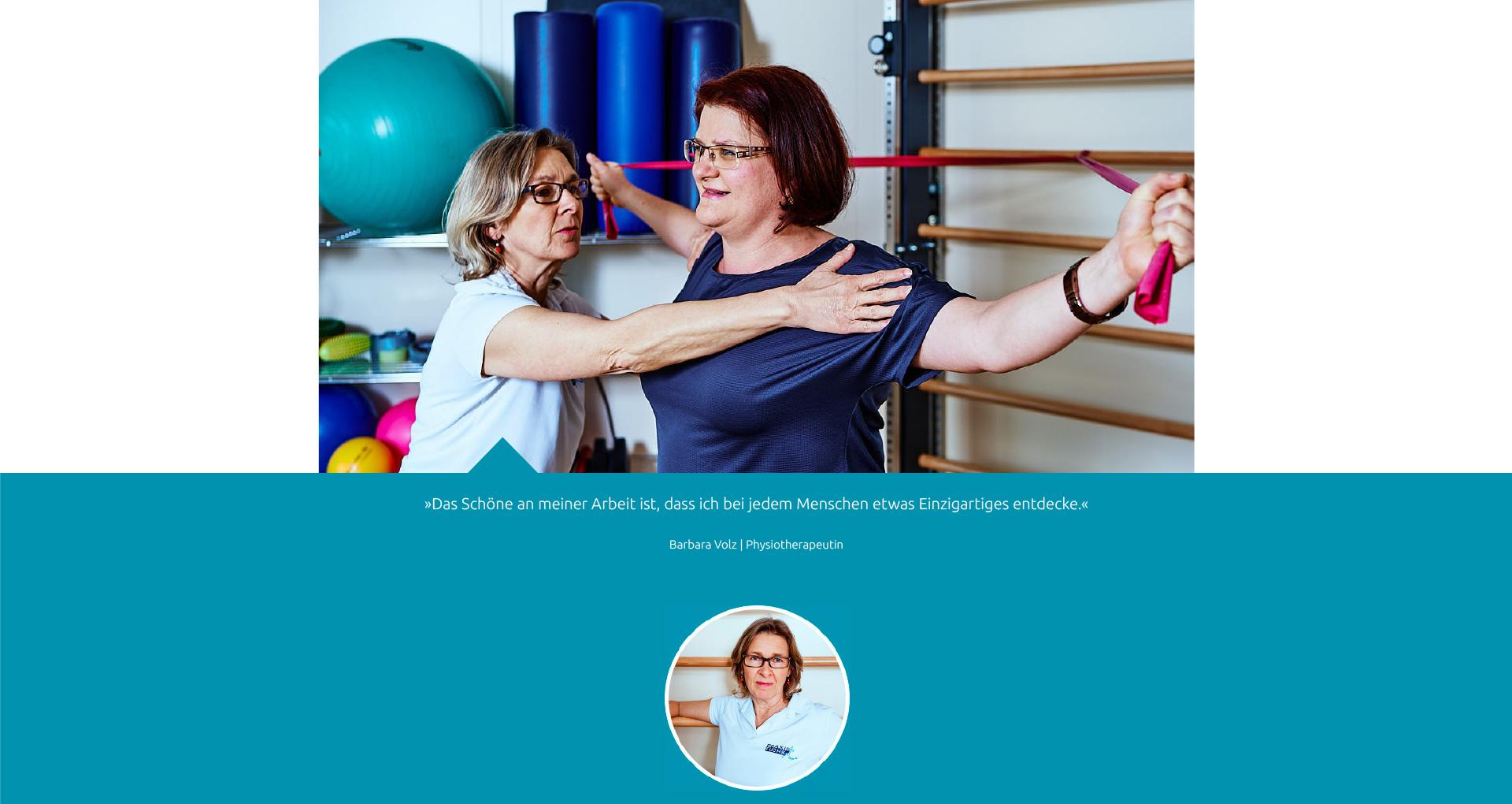 Team - Barbara Volz - Praxis Fuchs Physiotherapie Osteopathie Rottweil