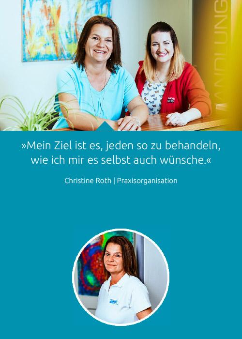 Team - Christine Roth - Praxis Fuchs Physiotherapie Osteopathie Rottweil
