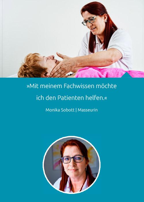 Team - Monika Sobott - Praxis Fuchs Physiotherapie Osteopathie Rottweil