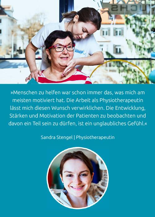Team - Sandra Stengel - Praxis Fuchs Physiotherapie Osteopathie Rottweil