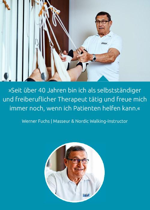 Team - Werner Fuchs - Praxis Fuchs Physiotherapie Osteopathie Rottweil